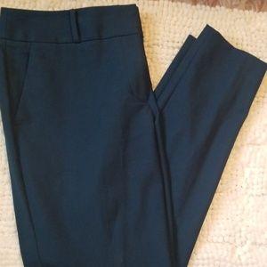 Loft Dark Teal Dress Pants